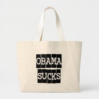 Obama chupa bolsa