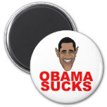 Obama chupa iman para frigorífico