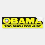 Obama chupa la parte 1 pegatina de parachoque