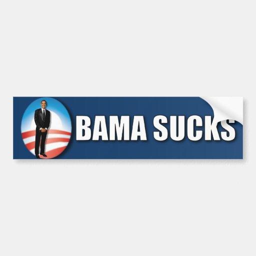 Obama chupa pegatina para auto