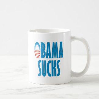 Obama chupa taza