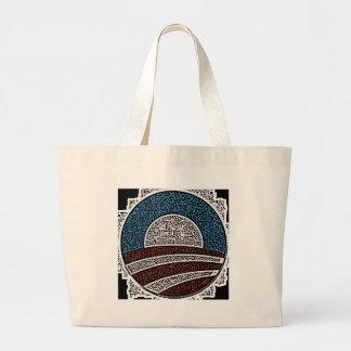 Obama Circle Tote Bags