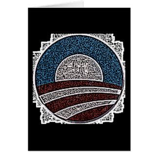 Obama Circle Card
