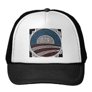 Obama Circle Trucker Hat