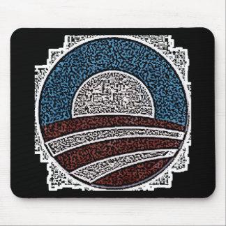 Obama Circle Mouse Pad