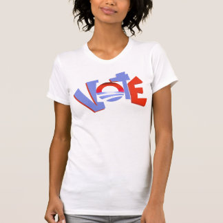 Obama circle vote 2012 Red Blue Campaign  T-Shirt