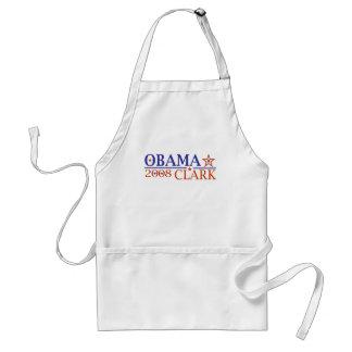 Obama Clark 08 Delantal