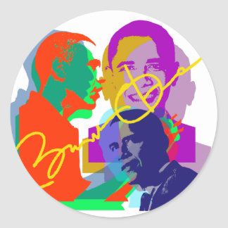 Obama Classic Round Sticker