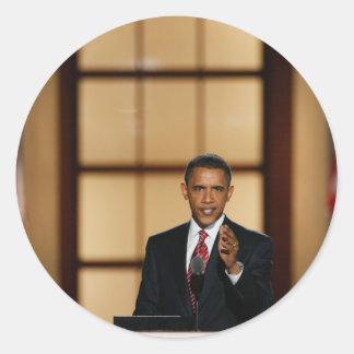 Obama Classic Round Sticker