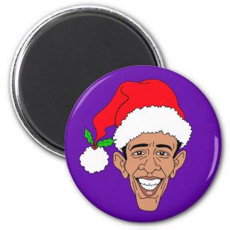 Obama Claus Imán Redondo 5 Cm