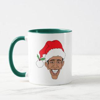 Obama Claus Mug