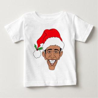 Obama Claus Playera Para Bebé