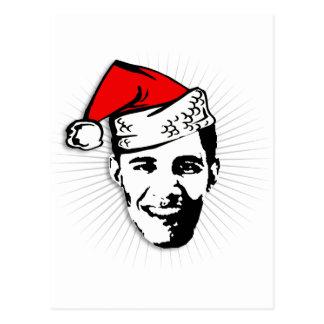 Obama Claus Tarjetas Postales