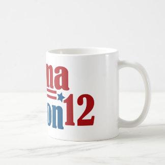 obama clinton 2012 coffee mug