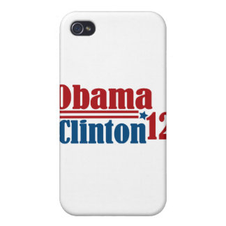 obama clinton 2012 cases for iPhone 4