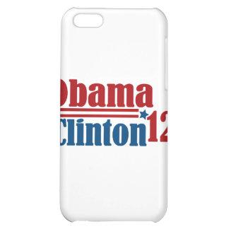 obama clinton 2012 iPhone 5C cases