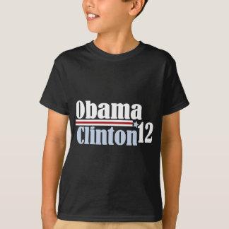 obama clinton 2012 T-Shirt