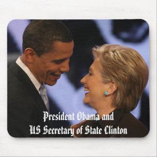 Obama - Clinton Inauguration Keepsakes Mouse Pad