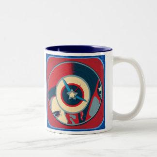 Obama Clock Mug - Indigo