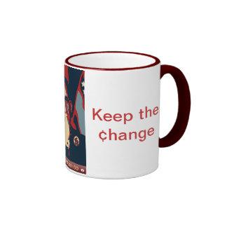 Obama Clock Mug - Maroon