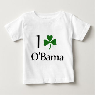 obama clover leaf baby T-Shirt