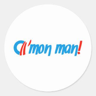 obama cmon man! stickers