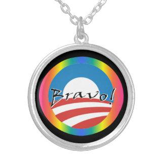 Obama - collar de los derechos de los homosexuales