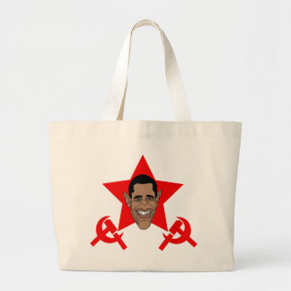 Obama Commie Tote Bags