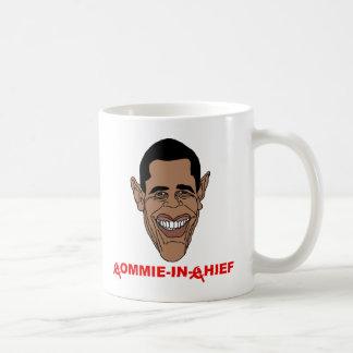 Obama: Commie-en-Jefe Taza Clásica