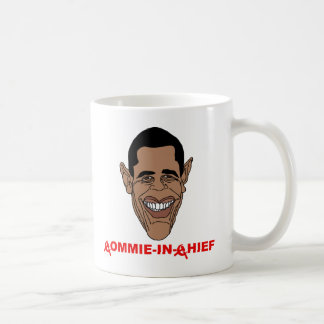 Obama: Commie-in-Chief Coffee Mugs