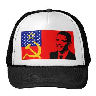 Obama Communist Flag Trucker Hat