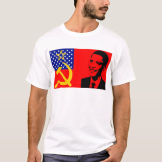 Obama Communist Flag T-Shirt