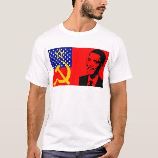 Obama Communist Flag T-Shirt