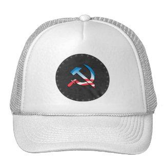 Obama Communist Symbol Mesh Hats