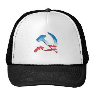 Obama Communist Symbol Trucker Hat