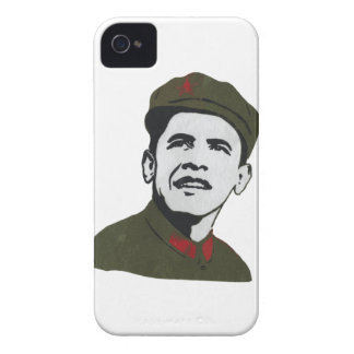 Obama como diseño de Che Guevara iPhone 4 Case-Mate Cobertura