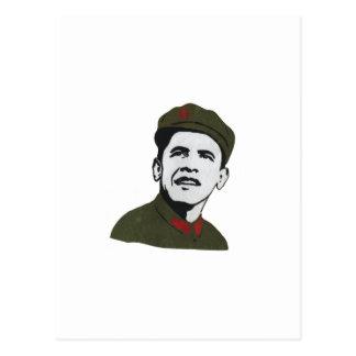 Obama como diseño de Che Guevara Postales