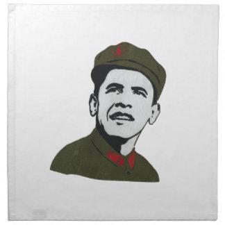 Obama como diseño de Che Guevara Servilleta Imprimida