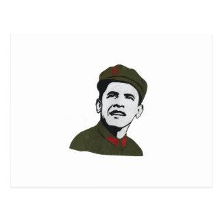 Obama como diseño de Che Guevara Tarjetas Postales