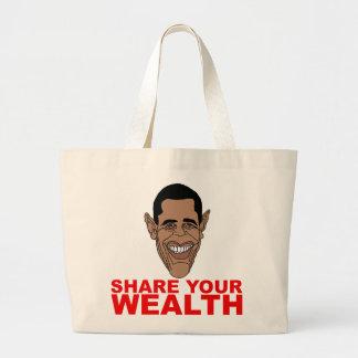 Obama: Comparta su riqueza Bolsa