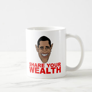 Obama: Comparta su riqueza Taza