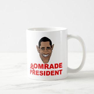 Obama: Comrade President Coffee Mug