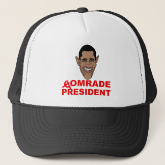 Obama: Comrade President Trucker Hat