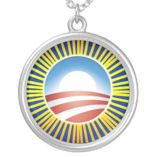 Obama con el collar de Sun
