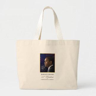 Obama con el retrato de JFK - la bolsa de asas