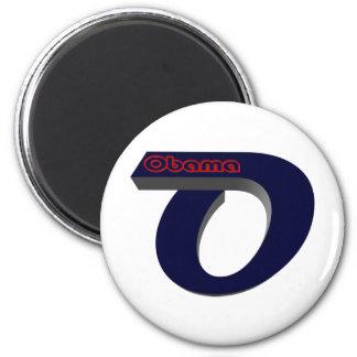 Obama con referencia a elige imán redondo 5 cm
