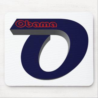 Obama con referencia a elige alfombrilla de ratón