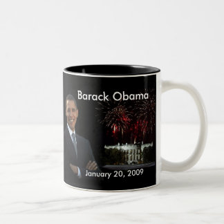 Obama Congrats - taza del día de inauguración