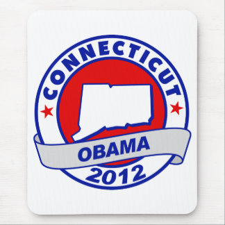 Obama - Connecticut Mouse Pad