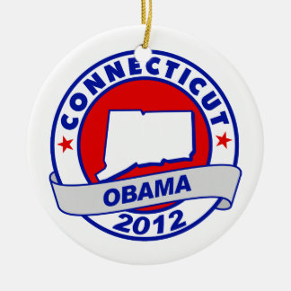 Obama - Connecticut Christmas Ornaments